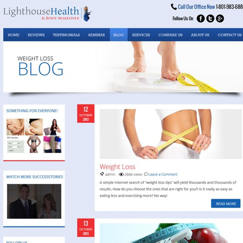 Create a Weight Loss Website