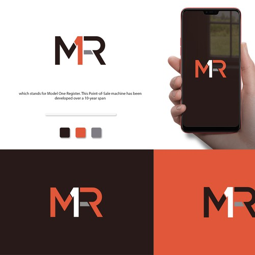 Sleek product logo design Point of Sale tech company on the rise!