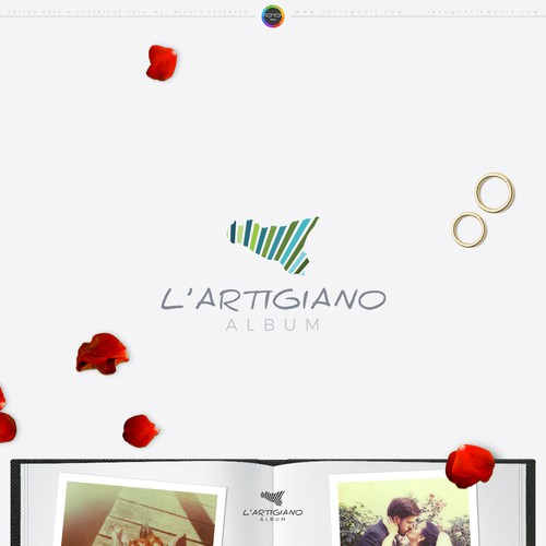 L'Artigiano Album Logo Design