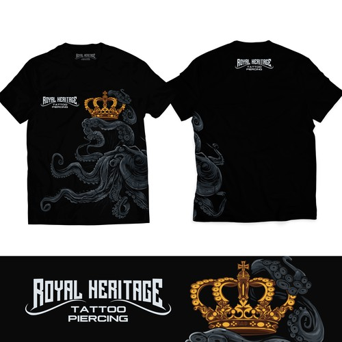 ROYAL HERITAGE TATTOO SHIRT