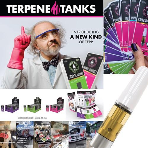 Terpene Tanks Branding
