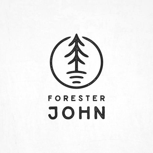 Hipster Logo for Forester John