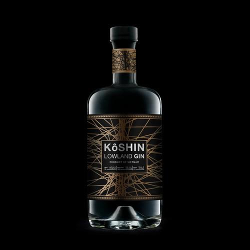 Label design for Gin