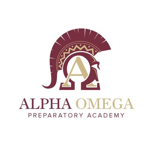 Alpha Omega Preparatory Academy With A New Logo