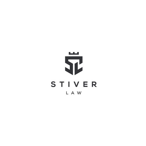 Powerful Logo for a Personal Injury Law Firm