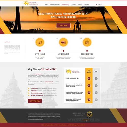 Sri Lanka Website