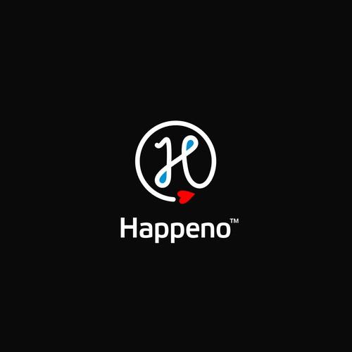 Logo concept for Happeno