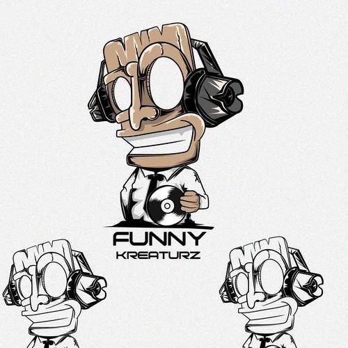 FUNNT KREATURZ DJ LOGO