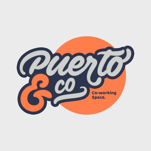 Logo Concept for Puerto&Co Coworking Space