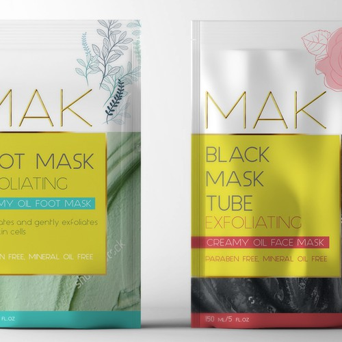 Beauty Package Design - Cosmetic Brand