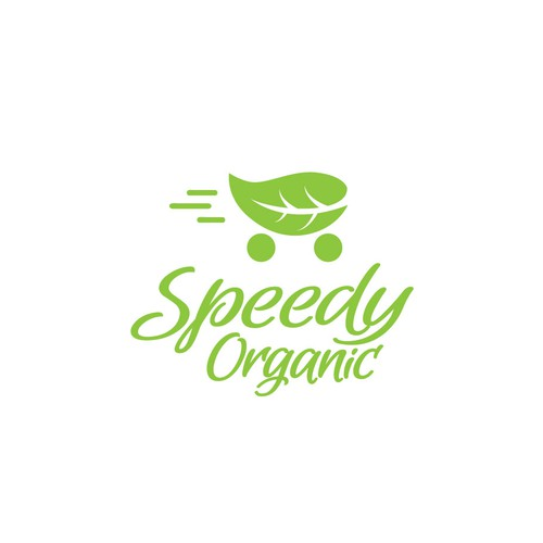 Logo design for a fresh organic food store