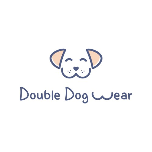 Clean Line Logo for Double Dog Wear