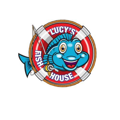 logo for fish restaurant