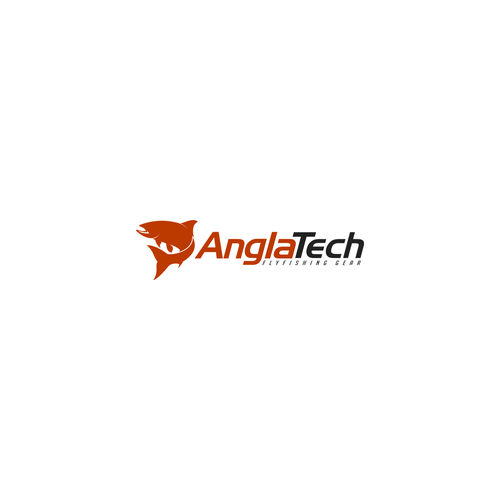 Logo For AnglaTech Fly Fishing Tackle