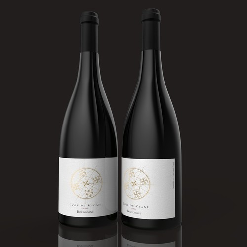 Label design for french wines