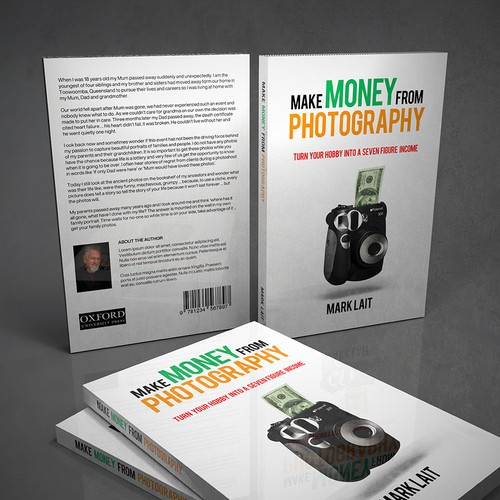 Book Cover Concept - Make Money from Photography