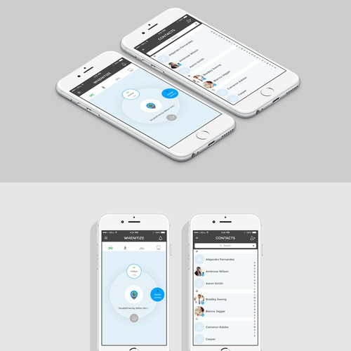 UI / UX Design for a Lifestyle iPhone App