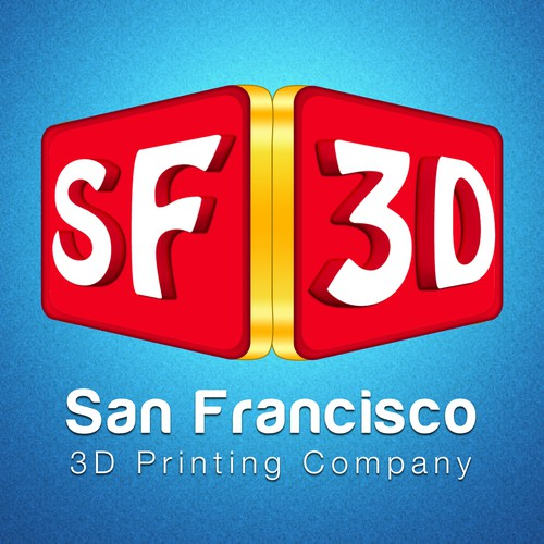 "Create A Logo For A San Francisco 3D Printing Company ""SF 3D"""