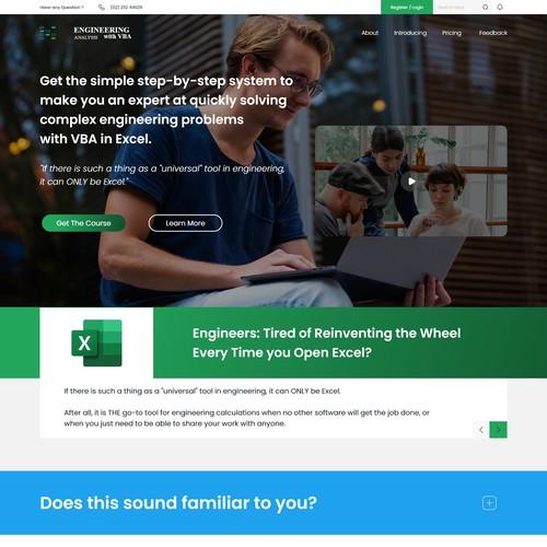 Engineering Analysis With VBA Website