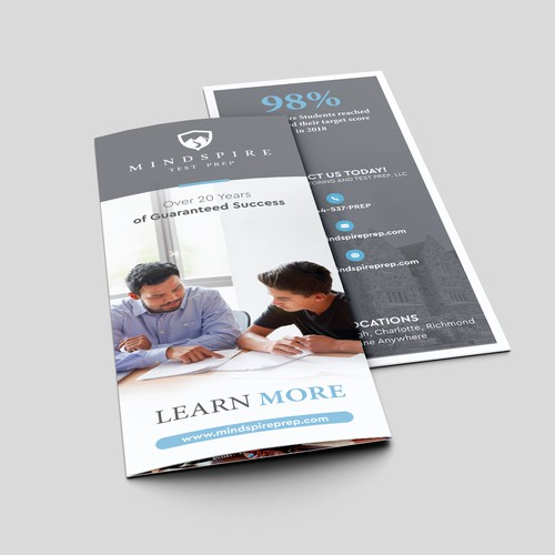 Brochure for tutoring company