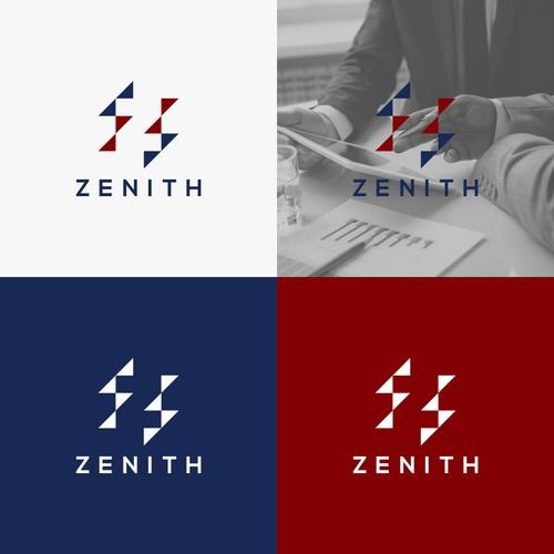 zenith logo design