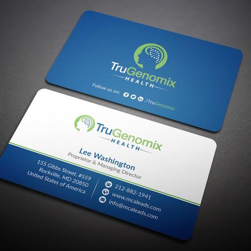 Round Edge Business Card