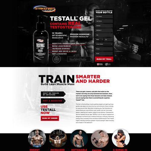 Testall landing page