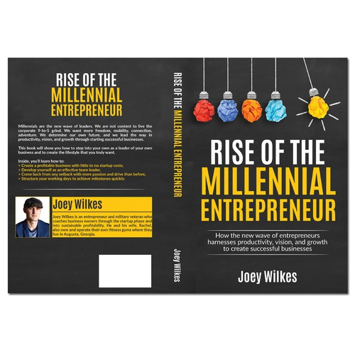 Non-fiction book for male & female entrepreneurs ages 18-30