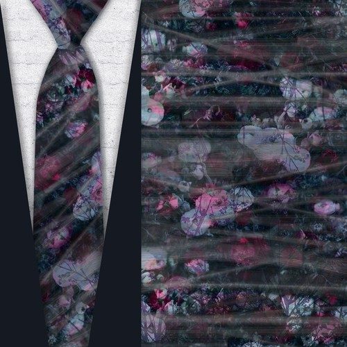 Necktie pattern design