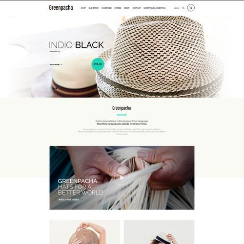 Greenpacha Web Site