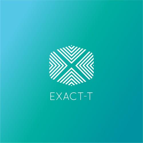 Geometric logo for tech startup