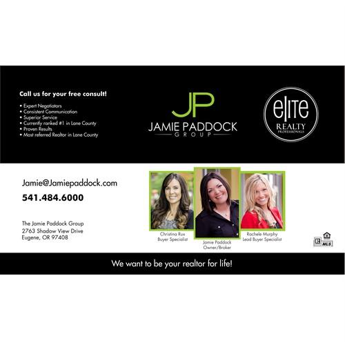 Minimalist logo for Jamie Paddock Group