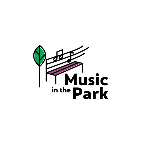 simple logo for music