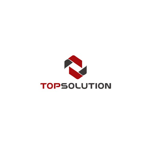 TopSolution logo design