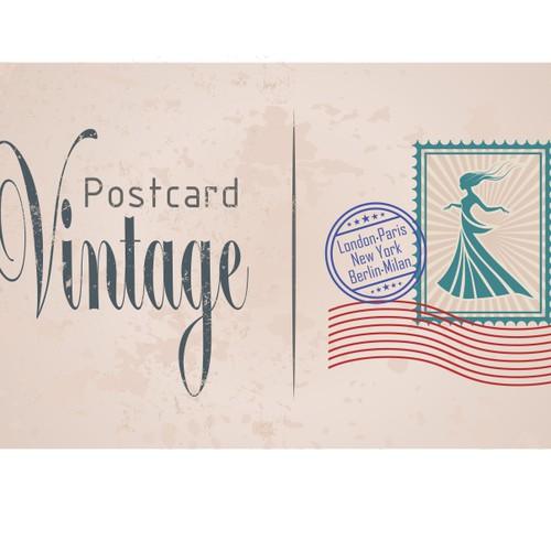 Postcard Vintage needs a new logo