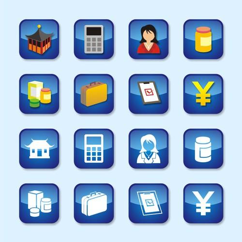 Icons set for JV Tech web application