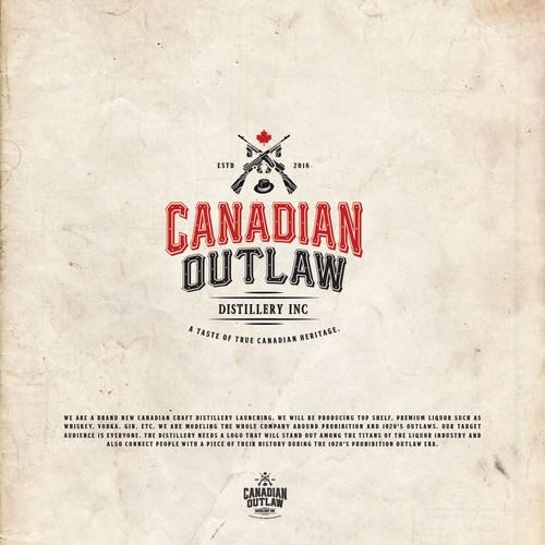 Canadian Outlaw Logo