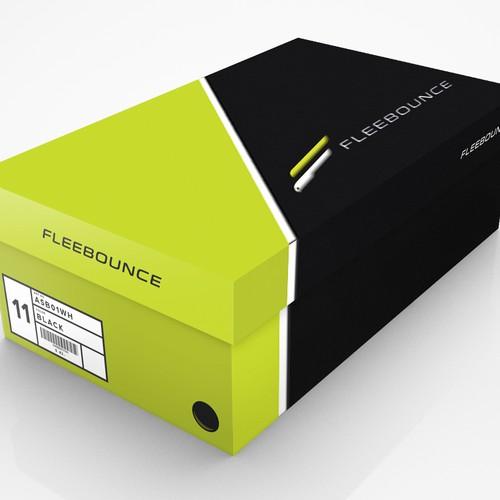 Shoe box design.