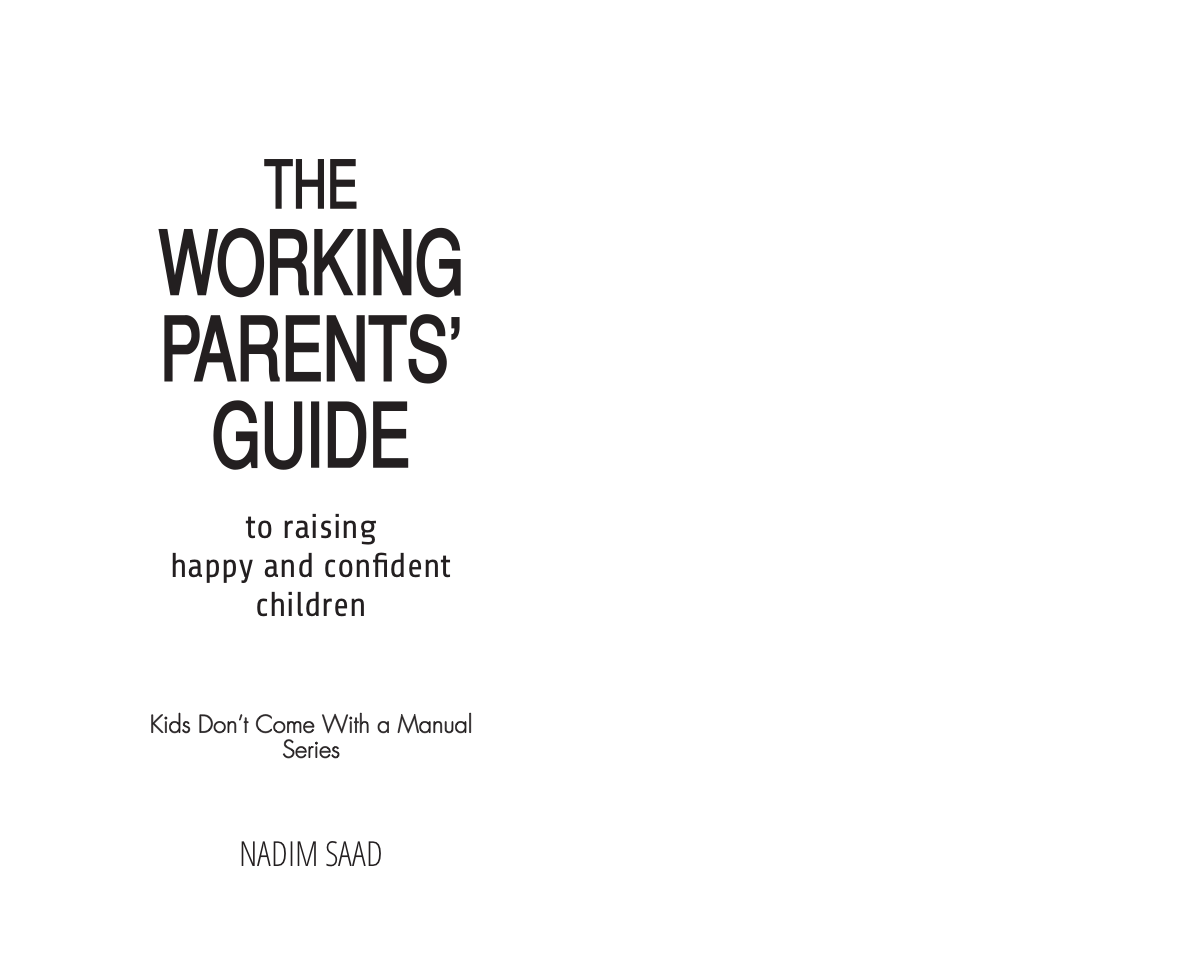 Typesetting Working Parents' Guide