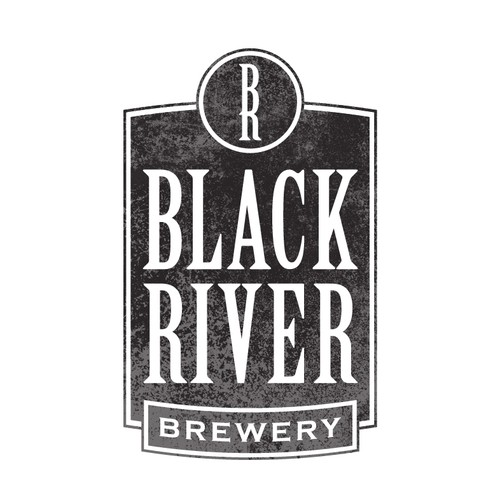 Logo for Black River Brewery
