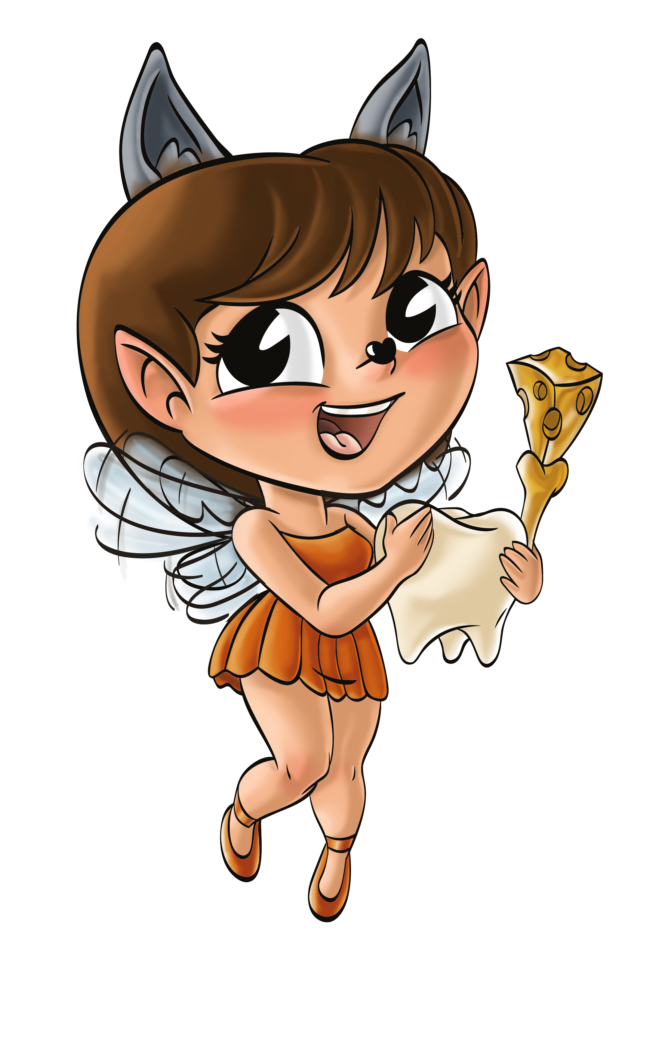 Design a tooth fairy mascot for QCHEFS !