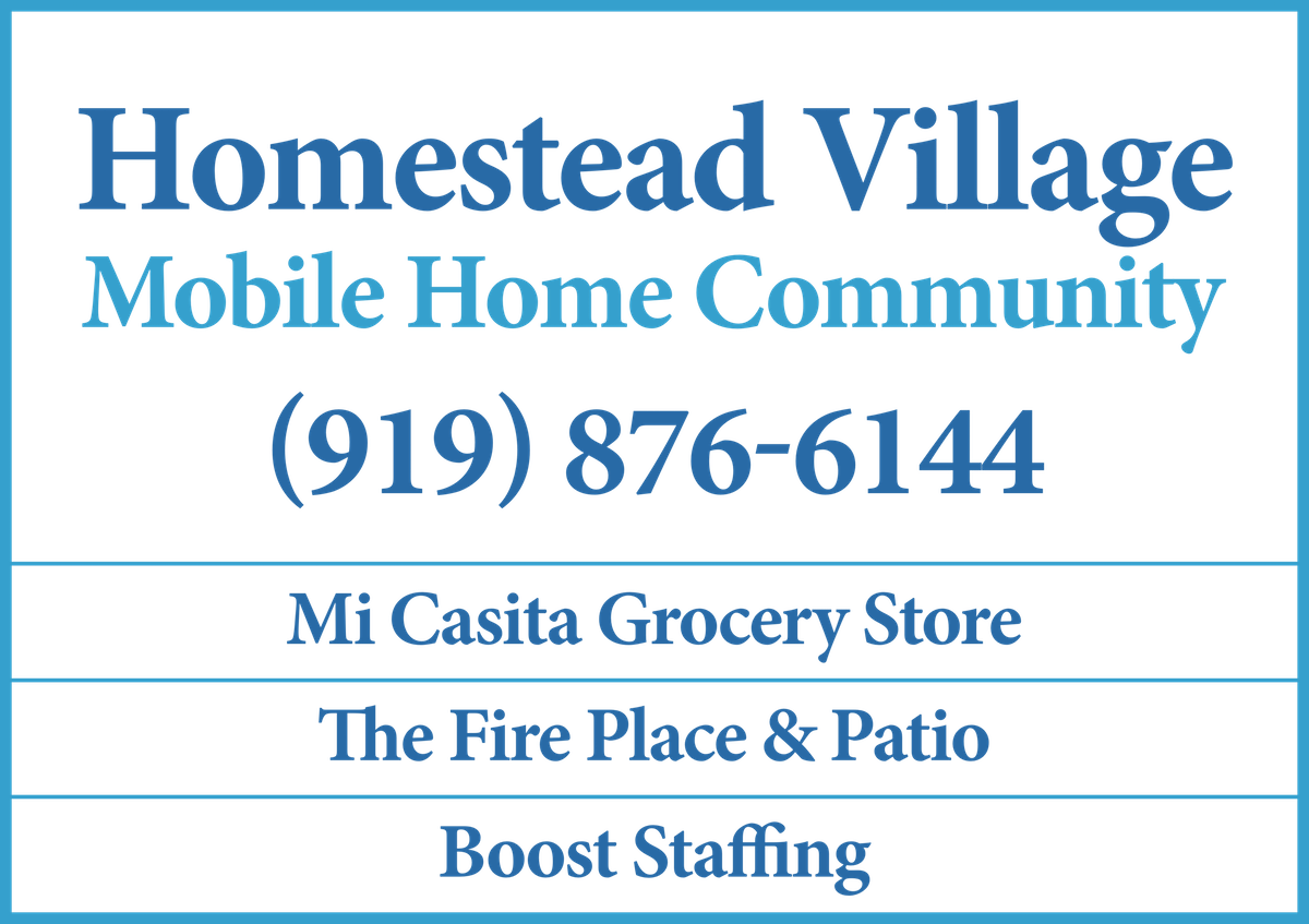 template for mobile home park/shopping center road sign