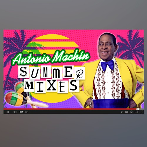 Cover Antonio Machín Summer Mixes