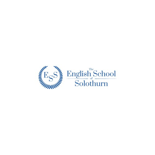 Logo for an English language school.