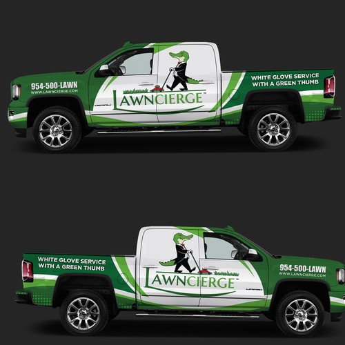 Truck for LawnCierge