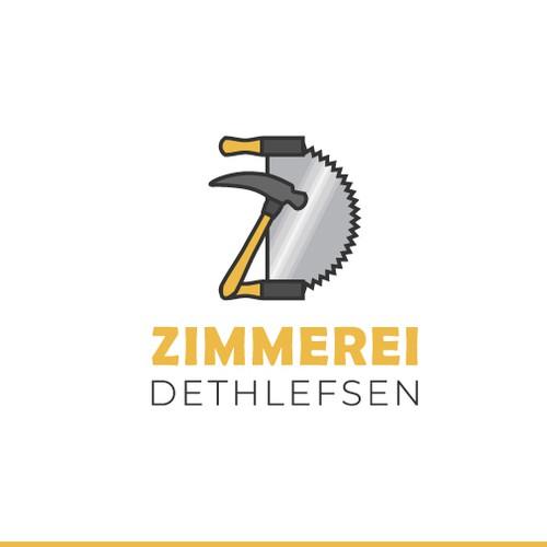 Logo for a carpentry