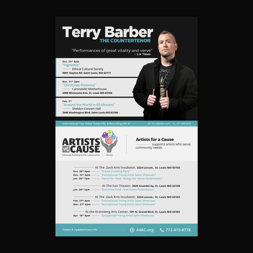 Shared ad for Terry Barber
