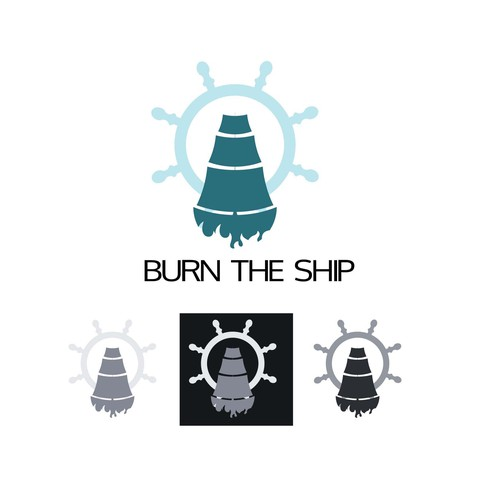 Burn the ship logo