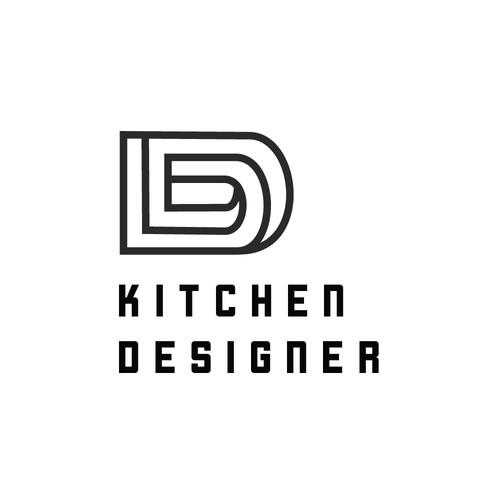 Esher - themed logo for design company