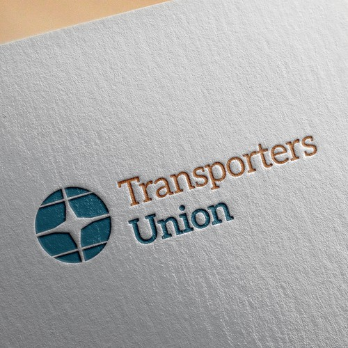 Logo concept for transport company